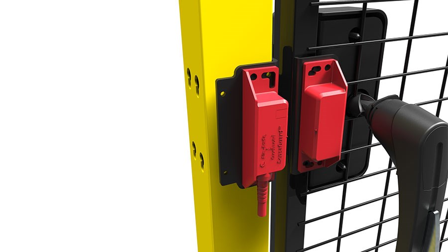 Axelent X Guard Hitch lock with switch